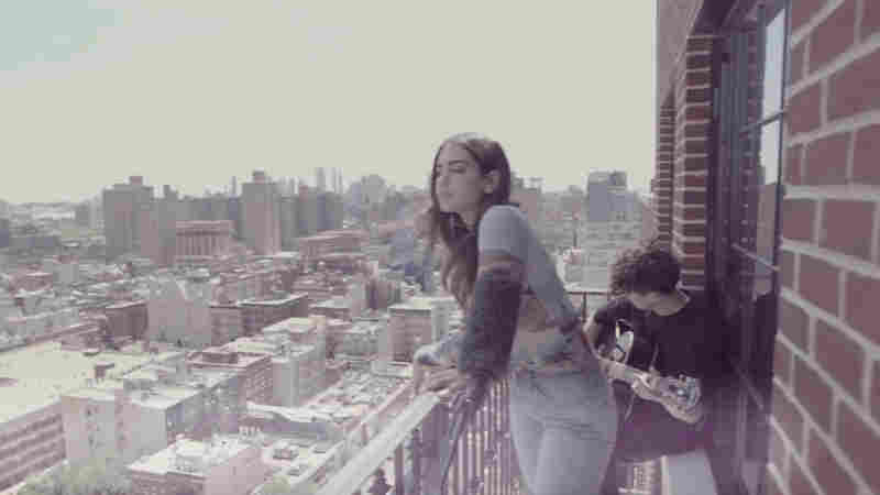 Watch Dua Lipa Perform 'Thinking Bout You' On A Balcony In New York City