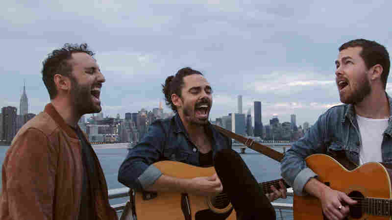 Watch Local Natives Play On A Dock Off The East River