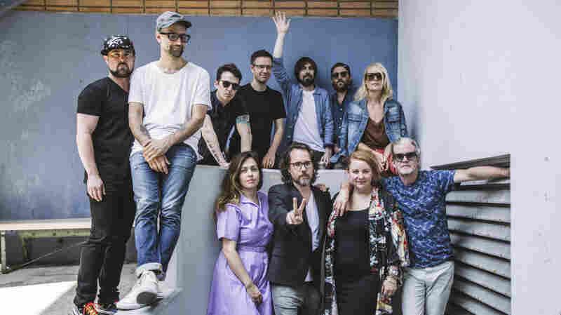 Watch Broken Social Scene Perform 'Stay Happy' Live In The Studio