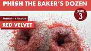 Phish Fans Are Wading In A Red Velvet Sea Of Doughnuts