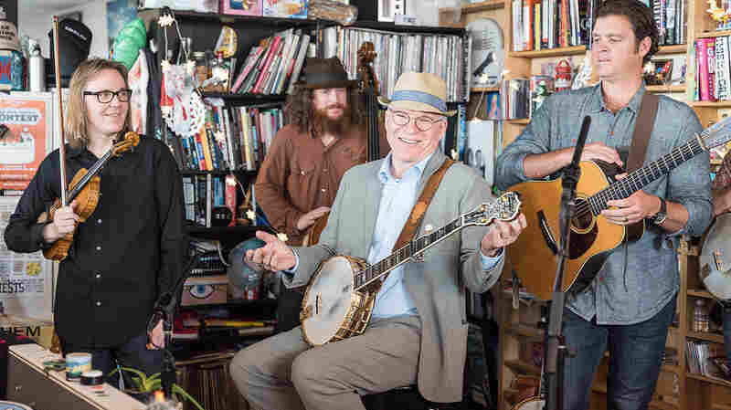 Steve Martin And The Steep Canyon Rangers: Tiny Desk Concert