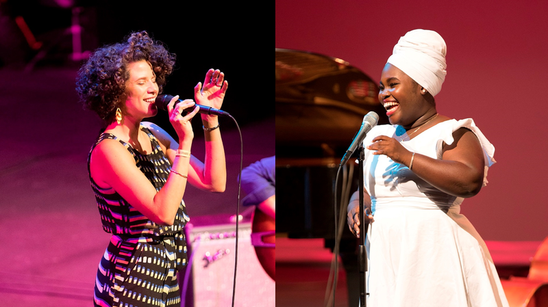 Cyrille Aimée and Daymé Arocena Perform At 2017 San Jose Jazz Summer Fest