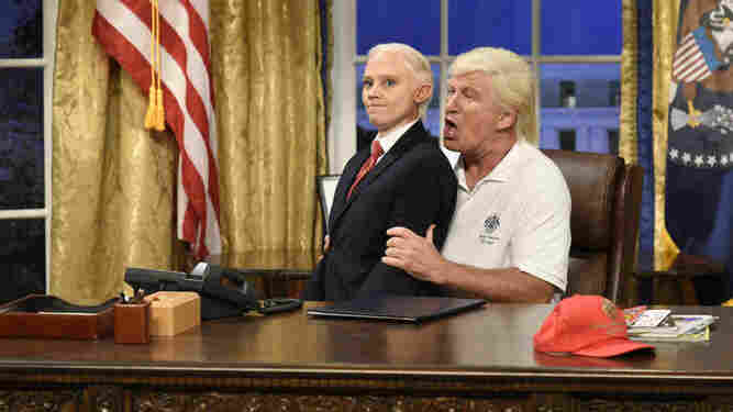 On 'SNL,' Jay-Z Wears A Kaepernick Jersey And Alec Baldwin's Trump Is Back