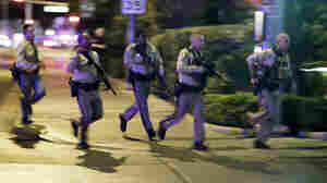 LISTEN: Amid Chaos In Las Vegas, Police Dispatches Reveal An Evolving Response