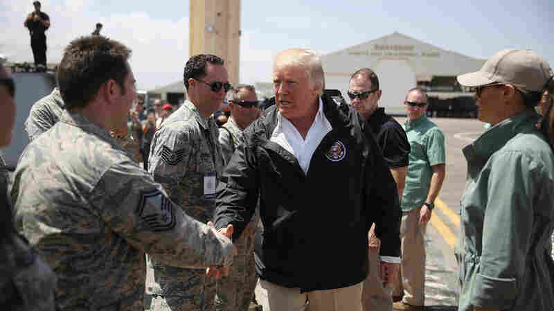 Trump Touts Relief Efforts In Puerto Rico: 'We've Saved A Lot Of Lives'