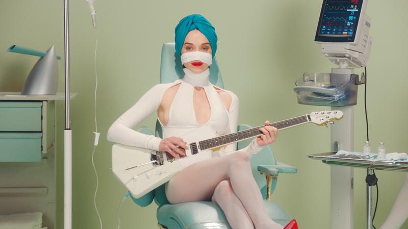 St. Vincent's 'Los Ageless' Video Is Nightmare Fuel In Pepto Pink